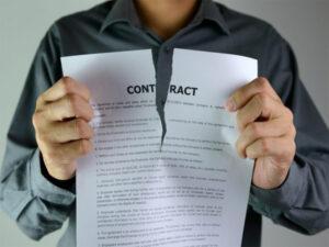 Чи можливе розірвання договору купівлі-продажу?
